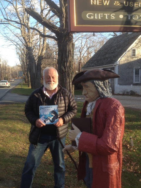 Chesterton's Winter Rescue book signing at Titcomb's Bookshop