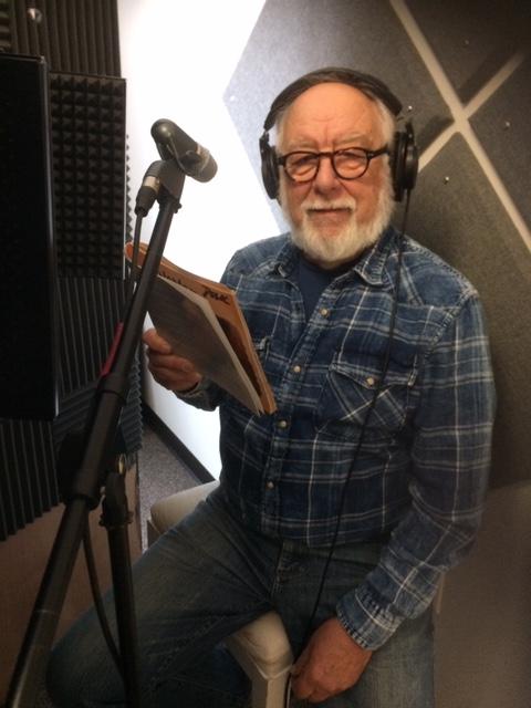 Dean recording audio books